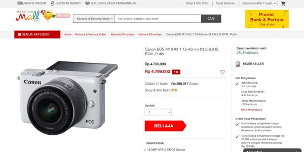 Pesaing kamera DSLR, kamera mirrorless.